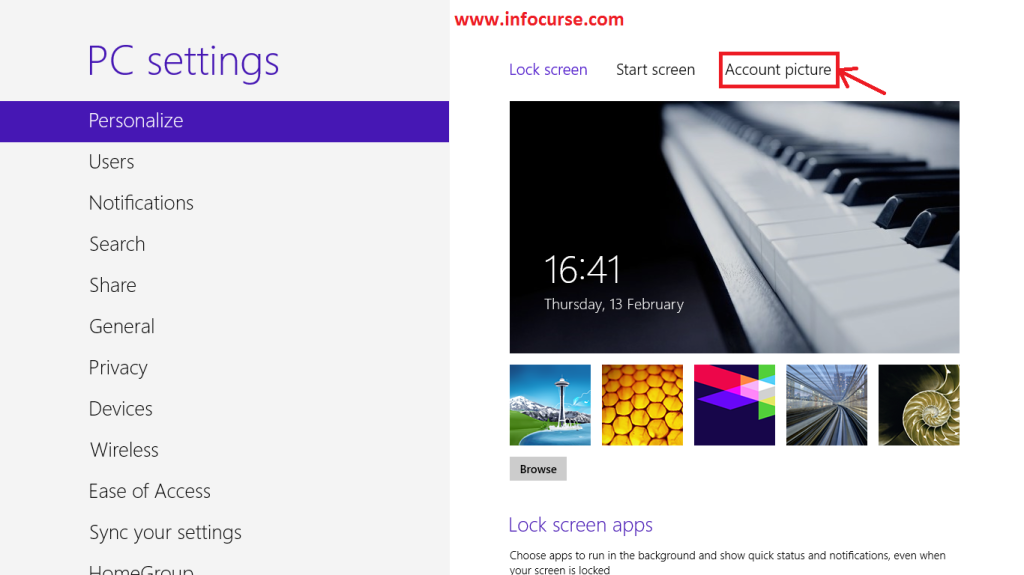 How to Change Your User Account Picture in Windows 8