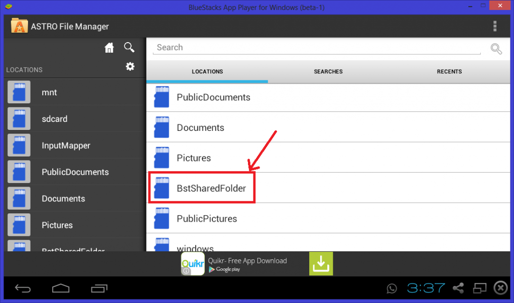 How to Change Whatsapp Profile Picture on Bluestacks from PC - alternate method