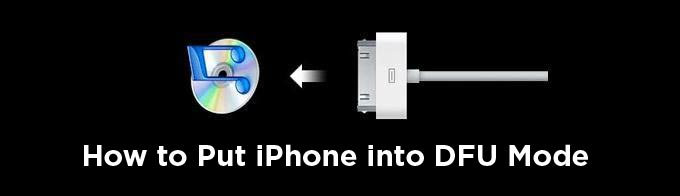 How to put iPhone into DFU mode