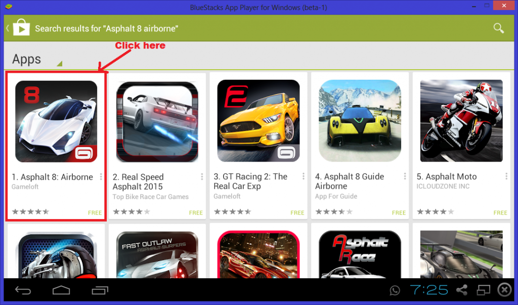 Download & Install Asphalt 8 Airborne For PC Windows