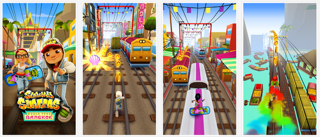Free Download Subway Surfer Bangkok Mod APK- Unlimited Coins & Keys Hack