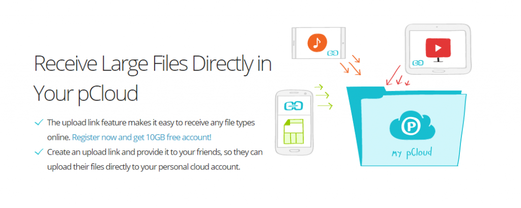 PCloud - best website to download torrent files from IDM