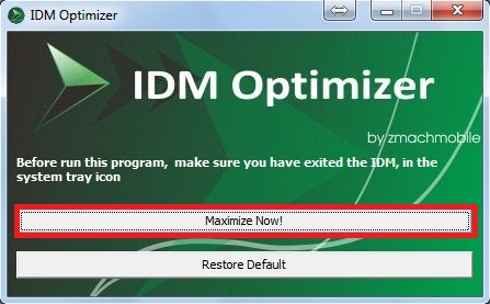 How to Increase IDM download speed