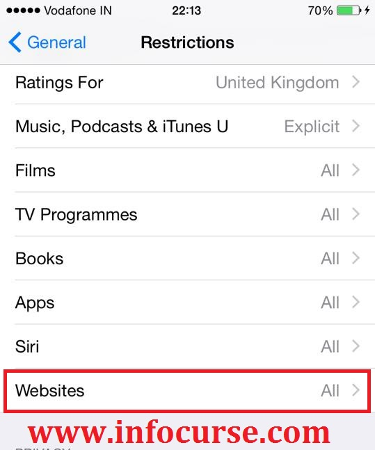 How to Block Websites on Safari for iPhone & iPad in iOS 7 or above