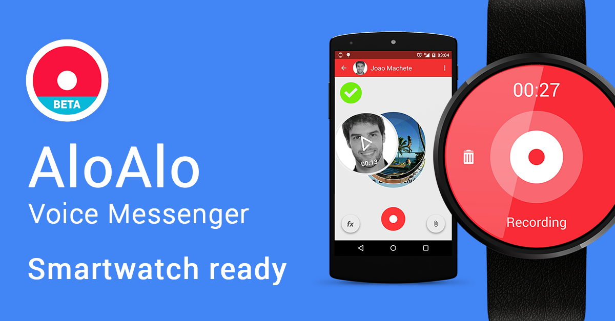 AloAlo Voice Messenger