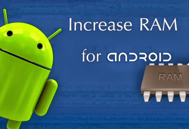 SD card to increase RAM of android smartphone